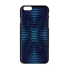 Vibrant Pattern Colorful Seamless Pattern Apple Iphone 6/6s Black Enamel Case