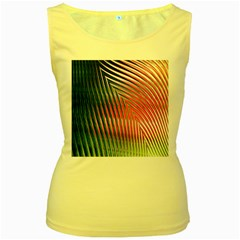 Watermelon Dream Women s Yellow Tank Top