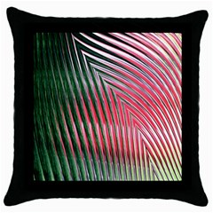 Watermelon Dream Throw Pillow Case (black) by Simbadda