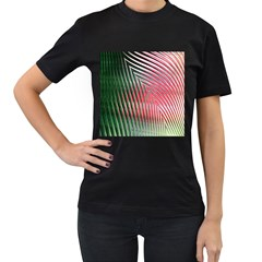 Watermelon Dream Women s T Shirt (black) (two Sided)