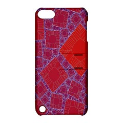 Voronoi Diagram Apple Ipod Touch 5 Hardshell Case With Stand by Simbadda