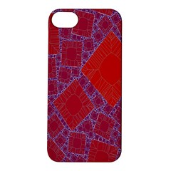 Voronoi Diagram Apple Iphone 5s/ Se Hardshell Case by Simbadda