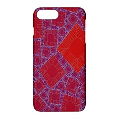 Voronoi Diagram Apple Iphone 7 Plus Hardshell Case by Simbadda