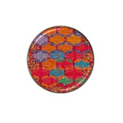 Abstract Art Pattern Hat Clip Ball Marker (10 Pack)