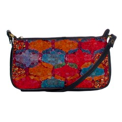 Abstract Art Pattern Shoulder Clutch Bags