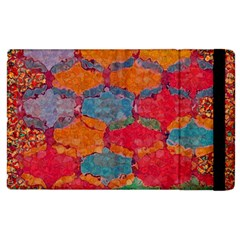Abstract Art Pattern Apple Ipad 2 Flip Case by Simbadda