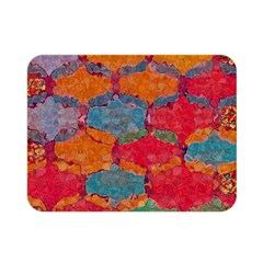Abstract Art Pattern Double Sided Flano Blanket (mini)