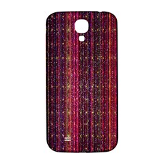 Colorful And Glowing Pixelated Pixel Pattern Samsung Galaxy S4 I9500/i9505  Hardshell Back Case by Simbadda