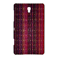 Colorful And Glowing Pixelated Pixel Pattern Samsung Galaxy Tab S (8 4 ) Hardshell Case  by Simbadda