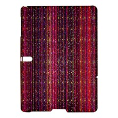 Colorful And Glowing Pixelated Pixel Pattern Samsung Galaxy Tab S (10 5 ) Hardshell Case  by Simbadda