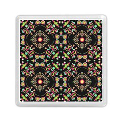 Abstract Elegant Background Pattern Memory Card Reader (square)