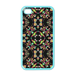 Abstract Elegant Background Pattern Apple Iphone 4 Case (color)