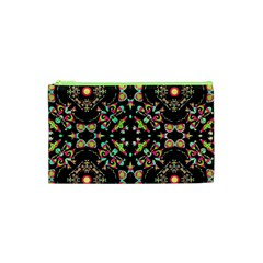 Abstract Elegant Background Pattern Cosmetic Bag (xs) by Simbadda