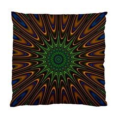 Vibrant Colorful Abstract Pattern Seamless Standard Cushion Case (two Sides) by Simbadda