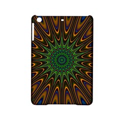 Vibrant Colorful Abstract Pattern Seamless Ipad Mini 2 Hardshell Cases by Simbadda