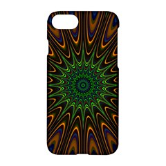 Vibrant Colorful Abstract Pattern Seamless Apple Iphone 7 Hardshell Case by Simbadda