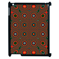 Vibrant Pattern Seamless Colorful Apple Ipad 2 Case (black) by Simbadda