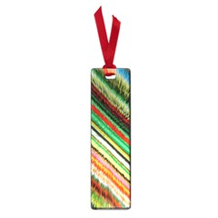 Colorful Stripe Extrude Background Small Book Marks