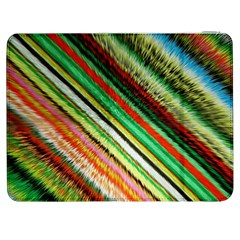 Colorful Stripe Extrude Background Samsung Galaxy Tab 7  P1000 Flip Case by Simbadda