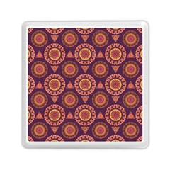 Abstract Seamless Mandala Background Pattern Memory Card Reader (square)