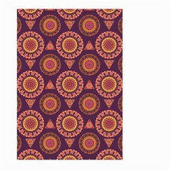 Abstract Seamless Mandala Background Pattern Large Garden Flag (two Sides) by Simbadda