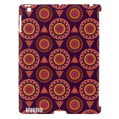 Abstract Seamless Mandala Background Pattern Apple Ipad 3/4 Hardshell Case (compatible With Smart Cover) by Simbadda