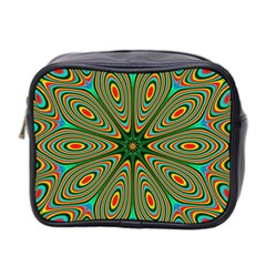 Vibrant Seamless Pattern  Colorful Mini Toiletries Bag 2 Side by Simbadda