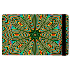 Vibrant Seamless Pattern  Colorful Apple Ipad 2 Flip Case by Simbadda