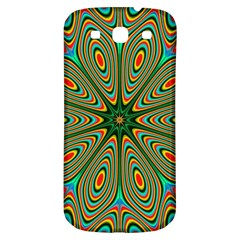 Vibrant Seamless Pattern  Colorful Samsung Galaxy S3 S Iii Classic Hardshell Back Case