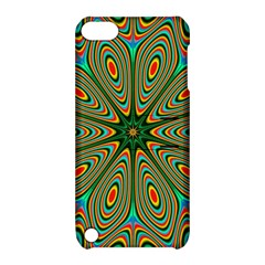 Vibrant Seamless Pattern  Colorful Apple Ipod Touch 5 Hardshell Case With Stand