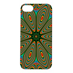 Vibrant Seamless Pattern  Colorful Apple Iphone 5s/ Se Hardshell Case
