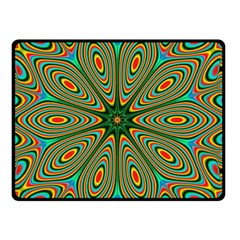 Vibrant Seamless Pattern  Colorful Double Sided Fleece Blanket (small)  by Simbadda