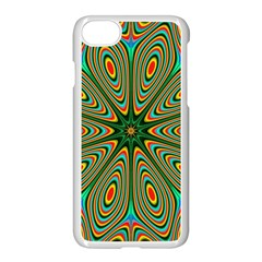 Vibrant Seamless Pattern  Colorful Apple Iphone 7 Seamless Case (white) by Simbadda