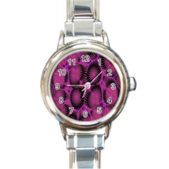 Self Similarity And Fractals Round Italian Charm Watch