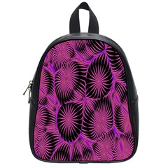 Self Similarity And Fractals School Bags (small)  by Simbadda