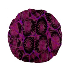 Self Similarity And Fractals Standard 15  Premium Flano Round Cushions by Simbadda