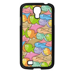 Fishes Cartoon Samsung Galaxy S4 I9500/ I9505 Case (black) by sifis