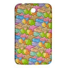 Fishes Cartoon Samsung Galaxy Tab 3 (7 ) P3200 Hardshell Case  by sifis