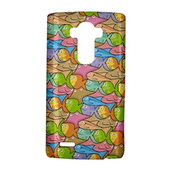 Fishes Cartoon Lg G4 Hardshell Case by sifis