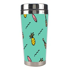 Guitar Pineapple Stainless Steel Travel Tumblers by Alisyart