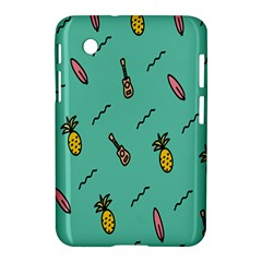 Guitar Pineapple Samsung Galaxy Tab 2 (7 ) P3100 Hardshell Case  by Alisyart