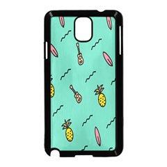Guitar Pineapple Samsung Galaxy Note 3 Neo Hardshell Case (black) by Alisyart