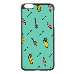 Guitar Pineapple Apple Iphone 6 Plus/6s Plus Black Enamel Case by Alisyart