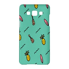Guitar Pineapple Samsung Galaxy A5 Hardshell Case  by Alisyart