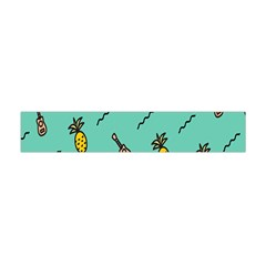Guitar Pineapple Flano Scarf (mini)