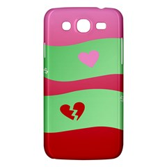 Money Green Pink Red Broken Heart Dollar Sign Samsung Galaxy Mega 5 8 I9152 Hardshell Case  by Alisyart