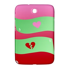 Money Green Pink Red Broken Heart Dollar Sign Samsung Galaxy Note 8 0 N5100 Hardshell Case  by Alisyart