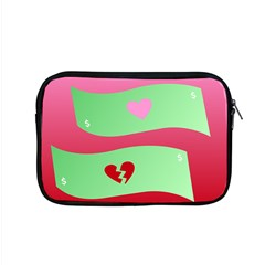 Money Green Pink Red Broken Heart Dollar Sign Apple Macbook Pro 15  Zipper Case by Alisyart