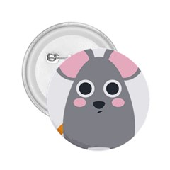 Mouse Grey Face 2 25  Buttons