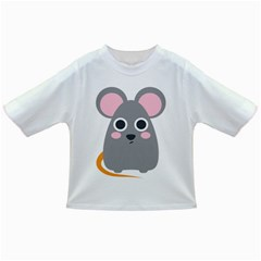Mouse Grey Face Infant/toddler T Shirts